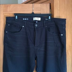 DL 1961 Avery modern straight jeans in black